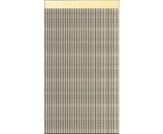 HomeMaison HM69601-1 Rideau à Fils Paillettes Polyester Paille 90 x 240 cm