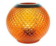 Yankee Candle 1507914 Monterosso Photophore Lanterne pour Bougie Votive Combinaison Orange 17,9 x 17,7 x 16,7 cm