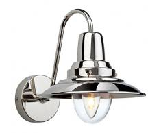 Firstlight 8686AB Applique murale de pêcheur culot à vis Edison E14 40 watt