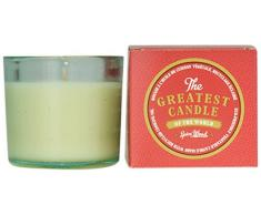 The Greatest Candle in the World TG075SP Bois Epicé Bougie dans Verre Recyclé Cire Végétale Lot de 2