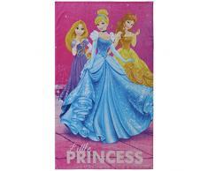 120x70 cm Rose 100/% Coton Disney Minnie Happy Drap de Plage