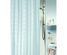 Spirella 10.38426 Rideau de Douche Portland White Textile 180 x 200 cm