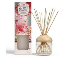 Yankee Candle Diffuseur à roseaux parfum Maison, Roses fraîchement coupées, 120ml, Jusquà 10Semaines de Parfum