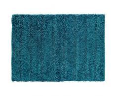 douceur dintérieur tapis de bain 50x70 cm coton essencia petrole