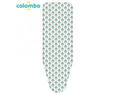 Colombo Housse de Repassage Triangles Bleus Large Assortis