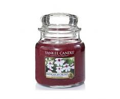 Yankee Candle 1344785E Bougie senteur Madagascar Orchidée en pot Rose