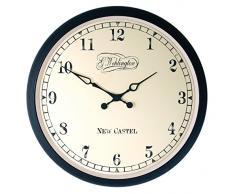 NeXtime 2655 Aaltje Horloge Verre Noir