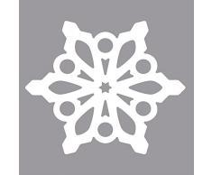 Rayher Hobby 69073000 Silhouettes (Perforatrice flocon de neige 3.7 x 4.2 cm libre service Sac/Lot de 1