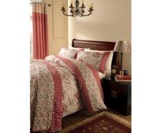 Catherine Lansfield - Parure de lit Double en Cachemire - Multicolore, Tissu, Multicolore, Eyelet Curtains - 66 x 72 inches