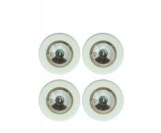 JJA 110106 Lot de 4 Lampes mini spot placard LED