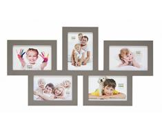 Deknudt Frames S65SY9 Cadre Multi Photos Taupe 5 x (10 x 15) cm