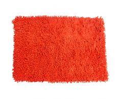 MSV 140516 Tapis Coton Orange 80 x 50 x 0,1 cm