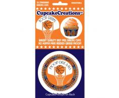 Cupcake Creations Papier standard cuisson cups-basketball 3
