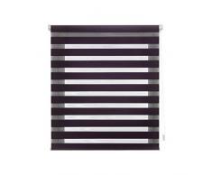 Blindecor Indus Store Enrouleur à Double Tissage Jour/Nuit 42X180 Violet