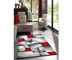 Un Amour de Tapis 30049 Brillance Ultimate Tapis de Salon Moderne Polypropylène Rouge 200 x 290 cm