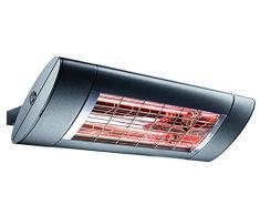 Etherma, 9300007, chauffage à infrarouge solamagic sm-s1 - 1400-na M. kippschalter, couleur : Nano anthracite dimensions : 520 x 200 x 80 mm