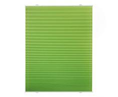 Lichtblick PS.060.130.06 Store plissé sans perçage Vert 60 x 130 cm
