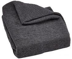Zebra tissu élastique 42979 housse cLIC cLAC canapé 3 places gris