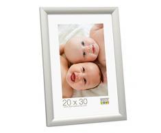 Deknudt Frames S54SD1 Cadre Photo Bois Argenté 30 x 45 cm