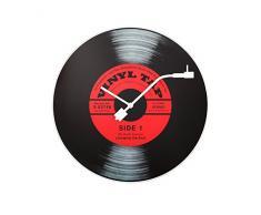 NeXtime 8141 Vinyl Tap Horloge Verre Multicolore