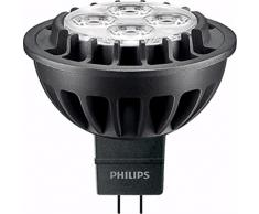 Philips 48939000 A Ampoule LED, plastique, 7 W, GU5.3, noir
