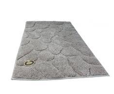 Gözze 1032-73-050070 Tapis de bain effet pierres Sable 50 x 70 cm