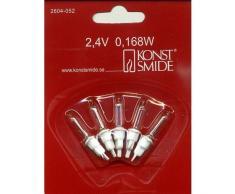 Konstsmide 2604-052 Ampoule, Acrylique, 2G7, 25 W, Clair