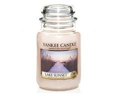 Yankee Candle bougie grande jarre, «Coucher de soleil au bord du lac»