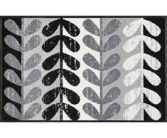 Wash + Dry Nuri Tapis Surface en Polyamide, Gris, 50 x 75 x 0.7 cm