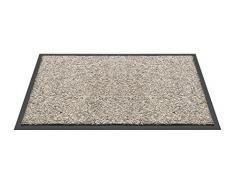 HMT 58300250 Paillasson Coton Granite 80 x 50 x 0,6 cm