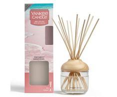 Yankee Candle Brins Diffuseurs, Sables Roses, 120ml, Jusquà 10Semaines de Parfum