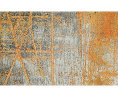 Wash + Dry Rustic Tapis, Surface en Polyamide, Orange, 175 x 110 cm