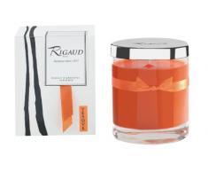 Rigaud BMM287780 Bougie Moyen Modèle Vésuve Orange