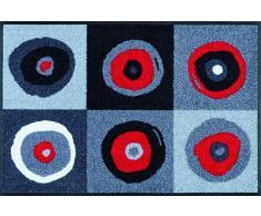 Wash+Dry Kleentex Paillasson Sergej Gris 40 x 60 cm multicolore