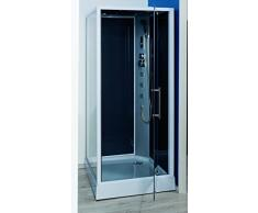 Aqua Plus SACHCABNIKY Niky 90/90 Cabine de douche hydro Gris