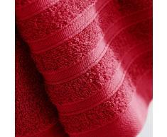 douceur dintérieur serviette invite 30x50 cm eponge vitamine rouge