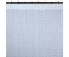 Madura Rideau à ruban fronceur QUEEN VICTORIA Blanc 125x280 cm