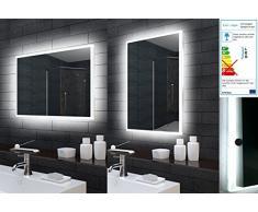 Salle de bain miroir de salle de bain éclairage LED 50 x 70 cm mle5700