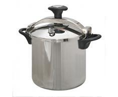 Kitchen Move CSB24-10L Autocuiseur Etrier Cuve Inox/Noir 10 L Diamètre 24 cm