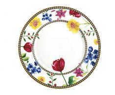 Maxwell Williams HV0029 Petite assiette à gâteau Motif Contessa, Porcelaine, blanc, 19.5 cm
