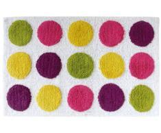 GELCO Design 707860 Tapis de Bain Dotty Multicolore 50 x 80 cm