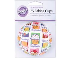 Wilton 415-422 Norme cuisson tasses-Cupcake ciel 75Pack de
