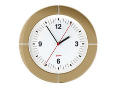 Guzzini Home i-Clock Horloge, San/aBS/Glass/mécanisme, Sable, 41.5x 37x 4.9cm