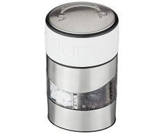 Bodum - 11002-913 - Twin - Moulin Poivre et Sel Combiné - Bandeau Blanc Crème