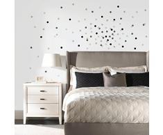 Room Mates 54132 Autocollant Mural Motif Confettis Neutre Papier Multicolore 48 x 8 x 8 cm