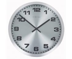 NeXtime 2907zw Mercure Horloge Verre Argent
