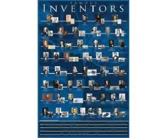 1art1® 37020 Inventeurs Poster Famous Inventors 91 x 61 cm