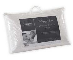 Dunlopillo Serenity Oreiller Prestige Complet Mince, Blanc