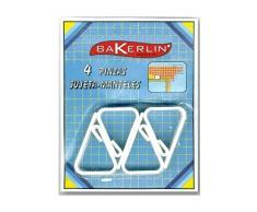 Bakerlin-Lot de 24 Pinces à Linge pinces à nappe