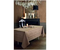 Garnier-Thiebaut ELOISE Nappe Antitache, Coton, Macaron, 174 x 364 cm